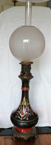 lampes 19eme siècle transformées et fonctionnant